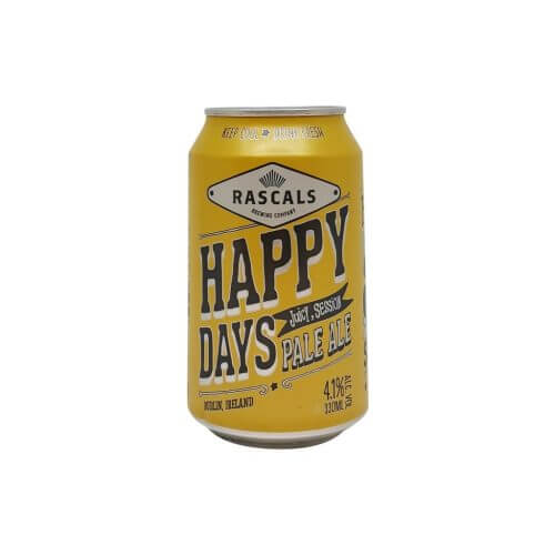 Rascals Brewing Co. Happy Days